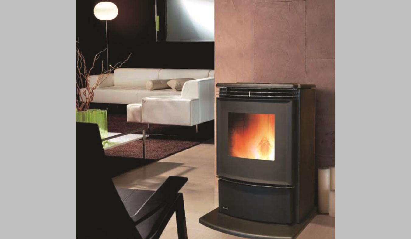 Enviro Evolution Wood Pellet Fire - The Heatstore