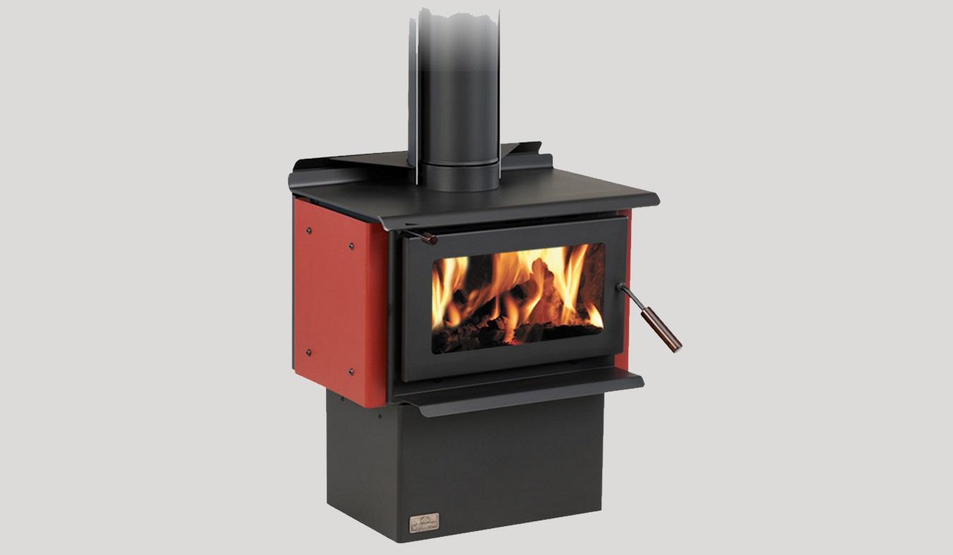 Woodsman Ecr Novo Freestanding Wood Fire The Heatstore