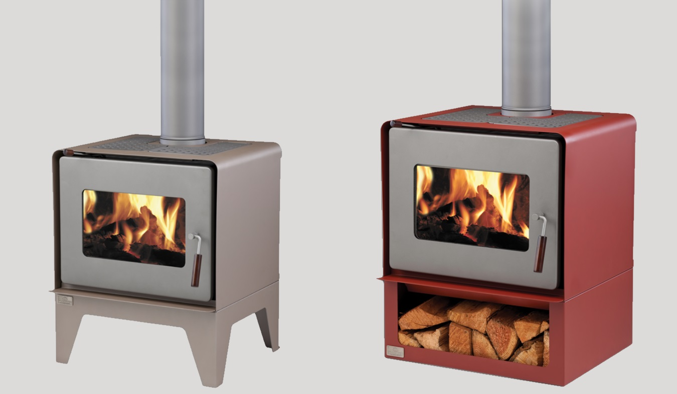 Woodsman Flare Freestanding Wood Fire The Heatstore