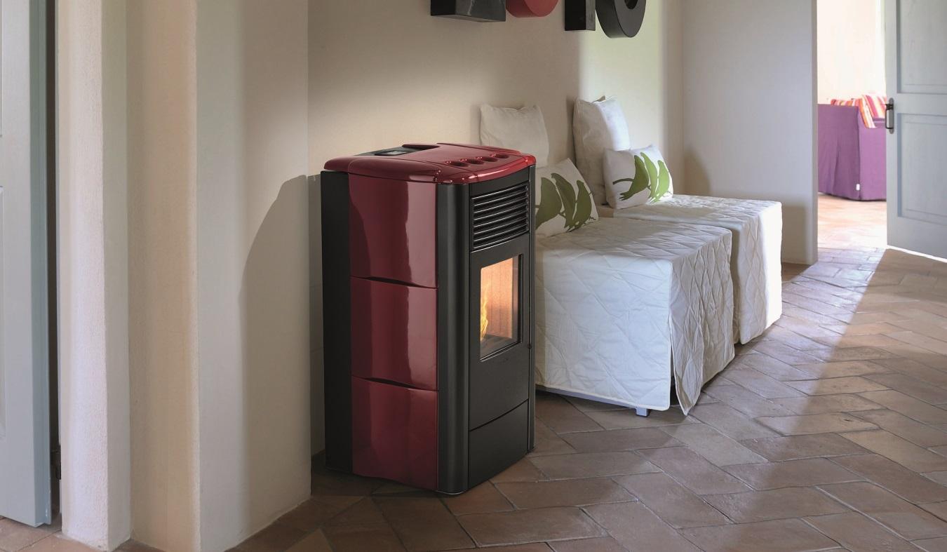 Monica Wood Pellet Fire - The Heatstore